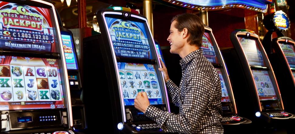 Spielen von Spielautomaten